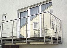 balkone von pk stahl und metallbau. Black Bedroom Furniture Sets. Home Design Ideas